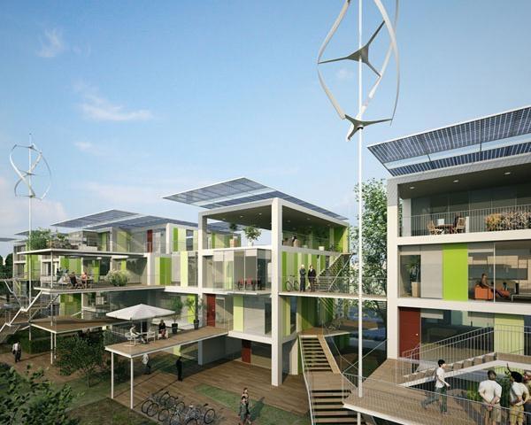 Una casa da 100 a mq a impatto ambientale zero tra for Nuovi costi di costruzione casa